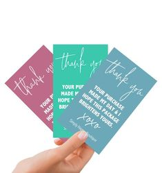 Thank You for Shopping Small Small Business Cards, Business Thank You Cards, Standard Business Card Size, Etsy Business, Craft Business, E Commerce, Thank You Card Design, Purchase Card, Bussiness Card