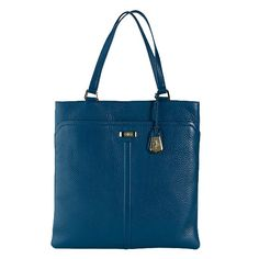 Happy Birthday to me...Cole Haan Village Marcy Market Tote...love the ocean color, the orange and the white.