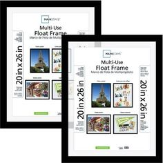 Mainstays 20x26 MultiUse Float Poster and Picture Frame Set of 2 >>> Continue to the product at the image link.