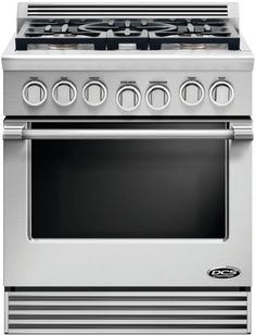 DCS RGV2305L 30 Inch Gas Range with 4.0 cu. ft. Convection Oven, 5 Sealed…