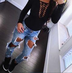 Maneras en las que tienes que usar tus jeans en la escuela