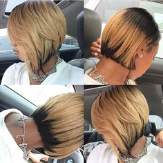 STYLIST FEATURE| Loving this short and sassy #quickweave #bobcut✂️ done by #AtlantaSty... | Use Instagram online! Websta is the Best Instagram Web Viewer!