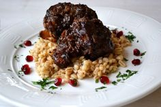 braised oxtail with red wine & shallots @ susaneatslondon.com
