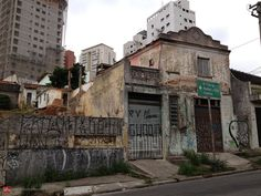 Old house at Sapopemba Avenue, Sao Paulo Brazil