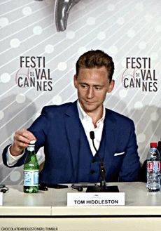 Tom Hiddleston - when you hear the EHEHEHEHE!!!