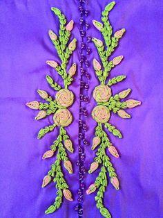 Myanmar Dress Design, Chinese Flowers, Flower Button, Neckline Designs, Caftans, Hand Embroidery Designs, Handmade Flowers, Fabric Flowers, Baby Quilts
