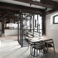 Inside the hotel Facade, Conference Room, Furniture, Home Decor, Decoration Home, Room Decor, Facades, Home Furnishings, Home Interior Design