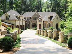 Mansions in Buckhead Atlanta Georgia | 4190 Harris Trl, Atlanta, Georgia