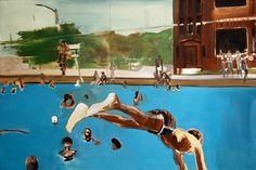 Noah Davis painting.