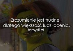 TeMysli.pl - Inspirujące myśli, cytaty, demotywatory, teksty, ekartki, sentencje Sad, Wisdom, Quotes, Fibromyalgia, Quotations, Quote, Shut Up Quotes