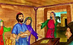Zechariah Names John Luke 1, John The Baptist, World Photo, Birth, Names, Christmas, Painting, Endless Love, Jesus Is