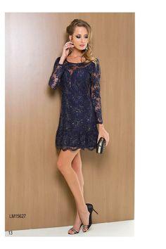 vestido de renda manga longa 1