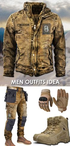 Cool Outfits For Men, Jewelry Store Design, Leather Jackets Online, Mens Outdoor Clothing, Style Masculin, Gym Workout For Beginners, Mens Gear, Cool Jackets, Character Outfits