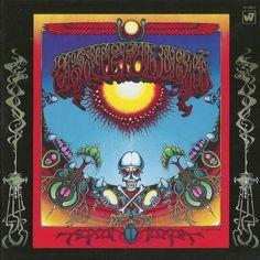 "Grateful Dead ""Aoxomoxoa"" Warner Bros. Seven Arts Records WS 1790 12"" LP Vinyl Record, US Pressing (1969) Album Cover Art by Rick Griffin"