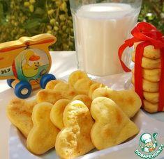 """Детское картофельное печенье """"Лёвушка"""" - кулинарный рецепт"""