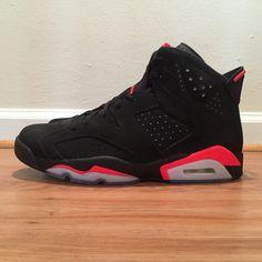 "'14 Jordan 6 Retro ""Infrared"" - Sz.11"