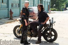 The Walking Dead: Season 8 photo shows reunited Daryl and Carol