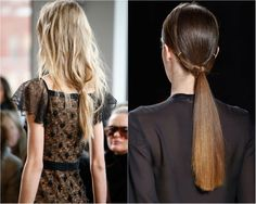 Ten simple but fashionable style ideas for long hair