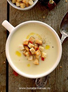 Reteta de supa-crema de cartofi Healthy Recipes, Healthy Meals, Foodies, Cooking, Blog, Inspiration, Clean Eating, Kitchen, Biblical Inspiration