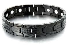 Mens Black Bracelet/Black Bracelet Men/Black by beyondcoolmetal, $23.99