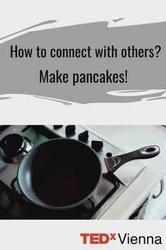 Do you feel that you have done almost everything at home or online with your friends already? Or do you want to just get to know some new people? Well, making pancakes is actually a simple and easy way to connect - not only people you already know but with strangers as well! 😊 Interested? 😀 Watch this TED talk by Robin Vogelaar, where he explains how he started an entire Dutch pancake party while travelling to various countries as a way of connecting and a fun social event! 👍 Making Pancakes, Dutch Pancakes, How To Make Pancakes, Pancake Party, Ted Talks, Social Events, Food For Thought, Countries, Robin