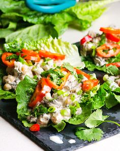10. Mushroom and Chickpea Lettuce Wraps #glutenfree #lunch #recipes http://greatist.com/eat/gluten-free-recipes-to-make-for-lunch