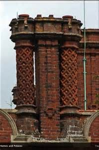 SANDRINGHAM HOUSE: THE CHIMNEY POTS ON THE QUEEN'S NORFOLK HOME ...