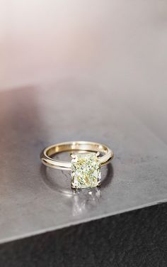 Radiant Solitaire Ring