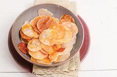 Chips de inhame - Panelinha