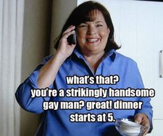 ina garten and her gay friens