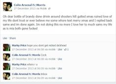 When he's not an #EDL footsoldier, he's a broken hearted drink driver...