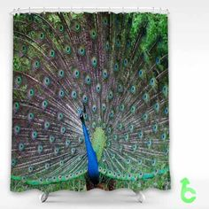 Cheap Bird Peafowl Shower Curtain cheap and best quality. *100% money back guarantee