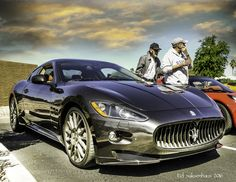 Maserati at theFountain Hills Car Show. by esaksenhaus