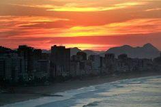 Leblon, Rio de Janeiro Waves After Waves, Wide World, South America, Brazil, New York Skyline, Beautiful Places, To Go, Explore, City