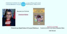 Rencontre littéraire avec Abdellah Baïda