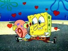 Spongebob's pet snail, Gary.