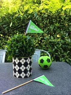 GOOD LOOKS - Soccer Party Flags