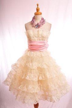 More like this but with black sash!  Nice full skirt!