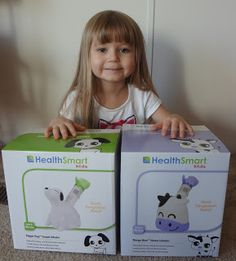 4 Winners! Enter for a chance to win a Margo Moo or Digger Dog Steam Inhaler by HealthSmart (winner's choice).