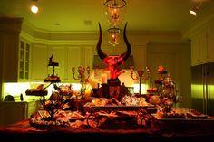 halloween+buffet design dawg