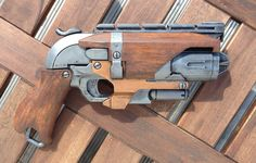 NERF Hammershot Custom Woodhandle by ClifHeckman on DeviantArt