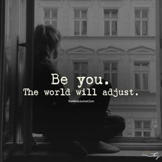 To be yourself in world that is constantly trying to make you something else is the greatest accomplishment