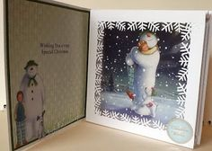 Joyfully handcrafted: The Snowman & The Snowdog/ Father Christmas from #crafterscompanion