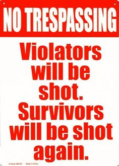 Clear warning...