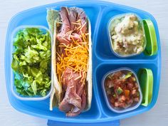 Take-to-School Taco Bar recipe from Food Network Kitchen via Food Network