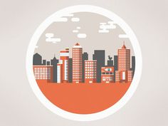 Resultado de imagen de city illustration