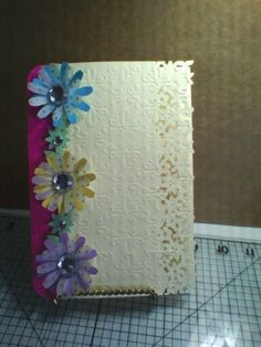 Embossed daisy card ' any occasion