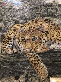 Stone Mosaic, Mosaic Glass, Stained Glass, Mosaic Portrait, Mosaic Animals, Mosaic Wall Art, Tile Murals, Mosaic Ideas, Animal Drawings