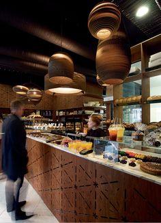 Milse Restaurant | Cheshire Architects moody wood interior