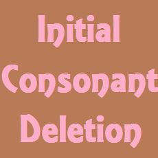 Initial Consonant Deletion (ICD) is when a child consistently leaves off consonants from the beginning of words.  Learn how to treat it here | Speech and Language Kids